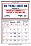 Custom Commercial Apron Calendar w/ 24-P Memo Pad (Thru 4/30)