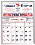 Custom Commercial 12 Sheet Easy-To-Read Calendar-19