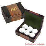Custom Keepsake Box - Burlwood Gift Box