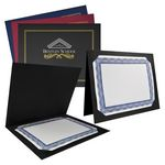 Custom Certificate Frame - 2-Fold Presentation Jacket