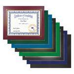 Custom Certificate Holder - Leatherette Certificate Frame