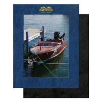 "Photo Frame - Leatherette Frame & certificate holder holds 5"" x 7"" photo, Certificate or Insert"
