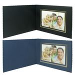 Custom Frame - Deckle Edge Card Stock Photo Frame/Certificate Holder for 7
