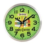 Custom Clock - Large Aluminum Wall Clock Full Color