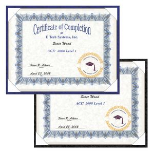 Certificate Frames - Certificate Holder