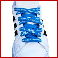 Tubular Imprinted Shoelaces
