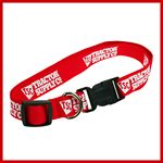 Custom Adjustable Polyester Screen Printed Dog Collar (XS/S)