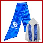 Custom Graduation Embroidered Stole