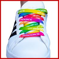 Dye Sublimated Custom Shoelaces