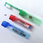 Custom Travel Toothbrush (4