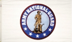 Custom Imprinted Army National Guard Flags