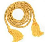 Custom Gold Graduation Honor Cord