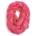 Custom Pink Ribbon Infinity Scarf
