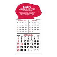 3-Month Vertical Magna-Stick™ Calendar Pad