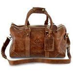 Custom Westbridge Leather Duffel