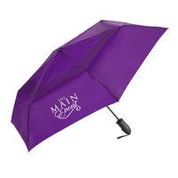 WINDJAMMER® Vented Auto Open & Close Compact Umbrella