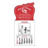 Cowboy 12 Month Magna-Stick™ Calendar Pad