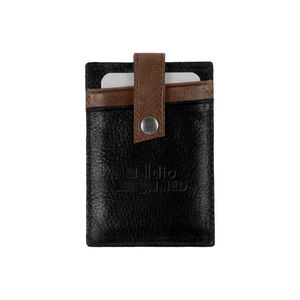 Westbridge 2-Tone RFID Leather Money Clip/Card Case