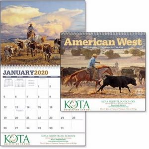 Triumph American West by Tim Cox Appointment Calendar