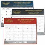 Custom GoodValue Small Vinyl Desk Pad Calendar