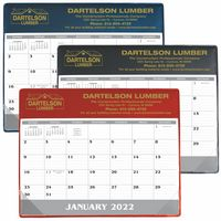 Good Value® Small Vinyl Desk Pad Calendar