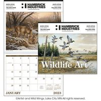 "Triumph® Wildlife Art Executive Calendar (14""x23"")"