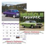Custom Good Value Muscle Thunder Calendar (Stapled)