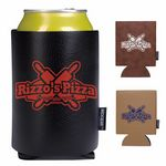 Koozie® Leather Like Can Kooler