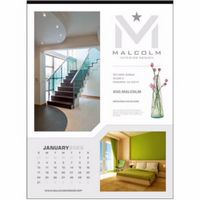 Triumph® Custom 12-Sheet Executive Calendar