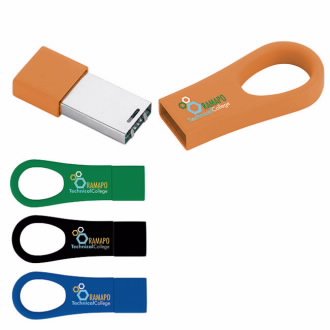 4 GB Universal Source™ Ring USB 2.0 Flash Drive