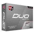 Wilson® Duo Soft Plus Std Serv Golf Balls