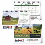 Custom Triumph Agriculture Desk Calendar