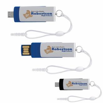 2 GB Universal Source™ Mini On the Go USB 2.0 Flash Drive