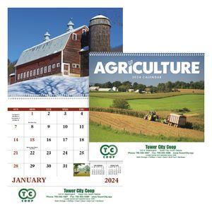 Good Value Agriculture Calendar (Spiral)