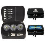 Custom Callaway Zippered Golf Gift Kit w/Warbird 2.0 Golf Balls