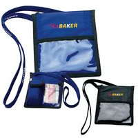 BIC Graphic® Neck Wallet w/Lanyard