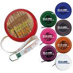 Custom 5' BIC Graphic Mini Round Tape Measure