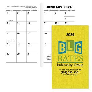 Good Value™ Value Monthly Pocket Planner Calendar
