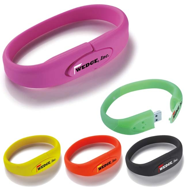 2 GB Universal Source™ Wrist Band 2.0 USB Flash Drive