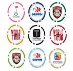 Custom BIC Graphic Poker Chip Ball Marker