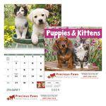 Custom GoodValue Puppies & Kittens Calendar (Spiral)