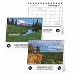 Custom Triumph Scenic Moments Large Desk Calendar