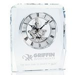 Custom Jaffa Crystal Skeleton Clock