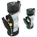 Wilson® Mini Golf Bag w/3 Ultra 500 Golf Balls & 5 Tees