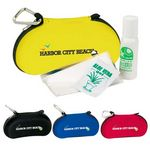 Custom Sunnies Survival Kit with Sunscreen & Sunglass Case