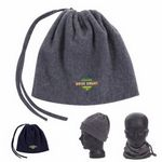 Custom GoodValue 2-in-1 Neck Warmer & Hat