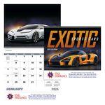 Custom GoodValue Exotic Sports Cars Calendar (Spiral)