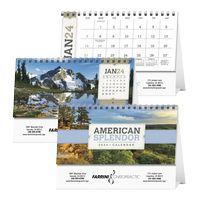 Triumph® American Splendor Desk Calendar