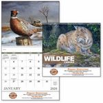 Custom GoodValue Wildlife Canvas Calendar (Spiral)