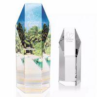 "7 1/4"" Jaffa® Hexagonal Tower Award"